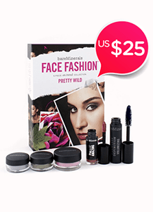 Face Fashion Collection<br />- The Look Of Now Pretty Wild 5pcs<br />(Blush + 2x Eye Color + Mascara +<br />Lipcolor)